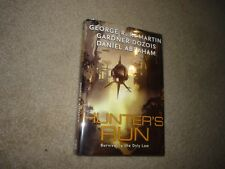 Hunter's Run George Martin, Gardner Dozois, D Abraham Signed by 4 Hardcover bce