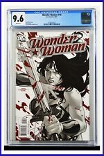 Wonder Woman #10 CGC Graded 9.6 DC August 2007 White Pages Comic Book