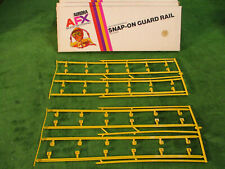 MIB NOS AURORA AFX Yellow Snap On Guard Rail T Jet Slot Car Race Track Accessory