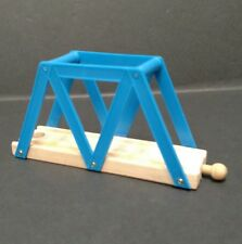 "Thomas The Train Wooden Track Blue Bridge 6"" Long"