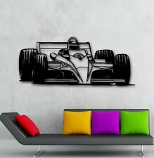 Wall Stickers Vinyl Decal Car Racing Formula 1 Sport Bolide Garage (ig1429)
