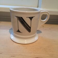 "New Monogram ""N"" Large Ceramic Coffee Mug"
