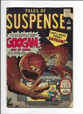 TALES OF SUSPENSE #17 ==> VG+ GOOGAM, SON OF GOOM MARVEL COMICS 1961