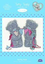 DMC-Punto Croce Kit-Tatty Teddy-Bunting Bears-bl1132/72