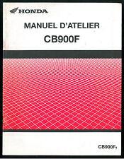 Revue d'Atelier complémentaire HONDA CB 900 F - Supplément 2004 Manuel Technique