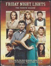 FRIDAY NIGHT LIGHTS:  The Fourth Season (DVD, 2010, 3-Disc Set) - NEW