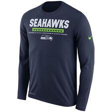 Seattle Seahawks Men's Sideline Legend Performance Long Sleeve T-Shirt NFL XXL