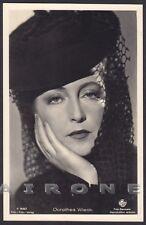 DOROTHEA WIECK 06 ATTRICE ACTRESS SCHAUSPIELERIN CINEMA - CAPPELLO HAT Cartolina