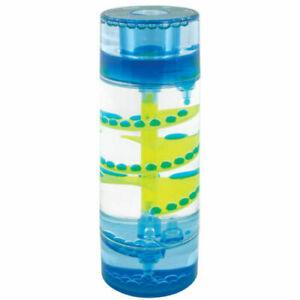 LIQUID SPIRAL DESKTOP TIMER Kids Sensory Aid ADHD Stress Relief Toy Gift Gadget