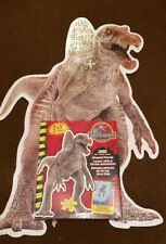 ■SUPER RARE■ Jurassic Park 3 Shaped 200pcs Jigsaw Puzzle Hasbro 2001 MB Games