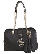 Guess Women's Violet Black Girlfriend Satchel Handbag