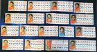 138x PANINI World Cup 2006 Sticker - Team Niederlande - Nederland - WM 2006 Lot