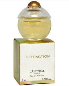 ATTRACTION by LANCOME Women Perfume 0.23oz-7ml EDP MINI Size DISCONTINUED (BK06