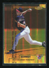 1999 Topps Finest Gold Refractor #164 Jason Schmidt 19/100