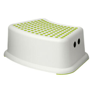 Step Stool for Kids Child Toilet Training Seat with Anti Slip Surface green