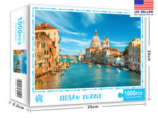 1000 Pieces Venice Jigsaw  Puzzles Assembling For Kids Adult Education Games
