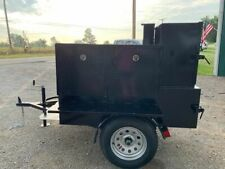 Mini Smoke House Bbq Smoker W Side Grill Trailer Food Truck Catering Business