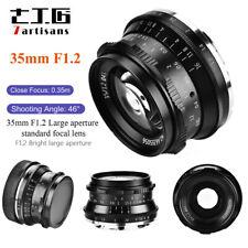 7artisans 35mm F1.2 Large Aperture Manual Focus Lens For Fujifilm X Mount X-A10