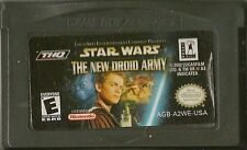 NINTENDO GAMEBOY ADVANCE STAR WARS THE NEW DROID ARMY GBA GAME