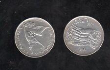 repubblica moneta 500 lire argento 1861-1961 - biga veloce