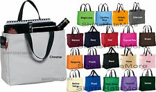 """Durable Multi Purpose CarryAll """"EVERYTHING"""" Bag Work Travel Crafts Boat Tote NEW"""