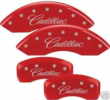 2013 Cadillac ATS MGP Disc Brake Caliper Covers 35007 RED