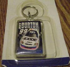 JEFF BURTON #99 NASCAR ACRYLIC KEYCHAIN NEW IN PACKAGE