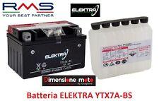 """Batteria ELEKTRA YTX7A-BS 12V-6Ah """"MF"""" per KYMCO People S 200 dal 2005 al 2006"""