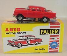 Slot Car Faller AMS Nr. 4802 Opel Kapitän rot Blockmotor alte Papp-OVP #680