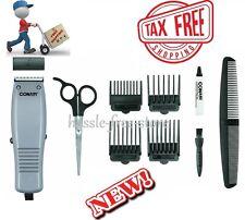 Haircut Kit 10 Piece Conair Clippers Set Hair Cut Trimmer Hair Styler Barber NEW