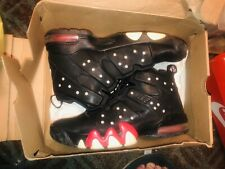 Black Red And White Charles Barkley Shoes