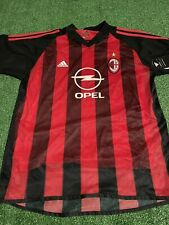 Ac Milan Soccer Jersey with Tags Size L