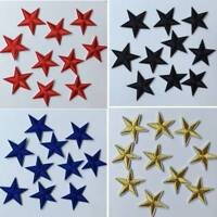 Star Embroidery Iron On Patches For Clothing Appliques Sew On DIY Clothing