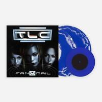 "FanMail TLC Exclusive VMP Club Edition Blue & White Swirl Color 2x Vinyl LP + 7"""