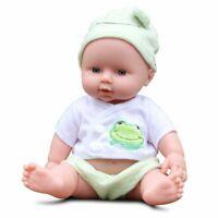 11'' Lifelike Newborn Babies Silicone Vinyl Reborn Baby Dolls Handmade Toys Gift