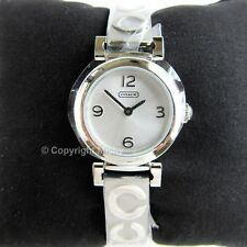 Coach Madison 23mm Stainless Steel Bangle Watch 14501687 Brand New in Box