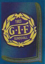 147 BADGE KLUBBMARKE # SWEDEN GIF.SUNDSVALL STICKER FOTBOLL ALLSVENSKAN 2000