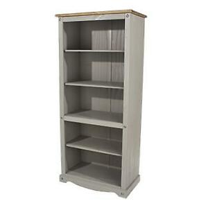 Corona Grey washed Bed Room Furniture bedside cabinet drawer chest dressing tabl