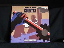 Big Country. Steeltown. 33 lp Record Album. 1984. Pressed In The U.K. (?)