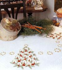 Stickpackung Decke 80x80 cm Kerzengesteck Weihnachten 1234 Stielstich Sticken