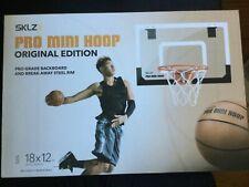 Mini Basketball Hoop With Ball 18 X 12 Inch Shatterproof Backboard Sklz Pro
