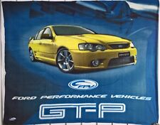 ~ Ford GT-P FPV - FLEECE THROW CAR FALCON BLANKET MAN CAVE *Ford Stock No More*