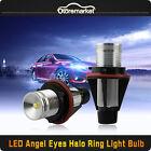 10W CREE LED White Angel Eye LED Light Ring Marker for BMW E39 E53 E60 E61 X3