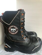 HELLY HANSEN Composite Toe Comp Plate Safety Winter Work Boots Men's Sz 9