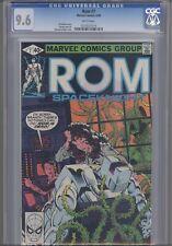 Rom: Space Knight #7 CGC 9.6 1980 Marvel  Doctor Strange App: Price Drop