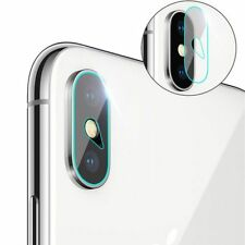 Panzerglas 9H iPhone X Kamera Rückseite Back Side Hinten Schutzfolie Schutzglas