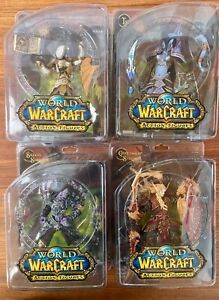 figurine. WOW custom printed figure by Blizzard Rare Gamer custom domed statue World of Warcraft