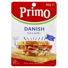 Primo Gluten Free Thinly Sliced Danish Mild Salami 80g
