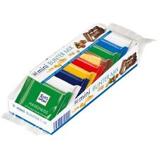 RITTER SPORT - Mini Chocolate Bars - 7 Flavors - 9 mini bars - German Product