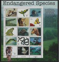 US MNH Stamps - Scott # 3105 - 1996 Endangered Species Sheet                 (M)